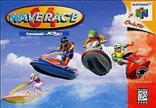 WAVE RACE 64 N64 NINTENDO 64 GAME COSMETIC WEAR