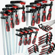 F Clamps Bar Clamp 12pc Set Quick Slide Wood Clamp 4 x 150mm 4 x 300mm 4 x 600mm
