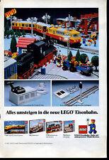 Lego--Alles umsteigen in die neue Lego Eisenbahn --Werbung von 1981--LOGO-NEU
