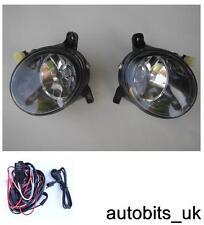 Lente Transparente Faros antiniebla luces L+R para AUDI A4 B8 A4L 09-12
