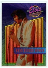 "Elvis Collection ""Hard Headed Woman"" Dufex Foil Card #28 of 40"