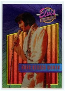 """Elvis Collection """"Hard Headed Woman"""" Dufex Foil Card #28 of 40"""