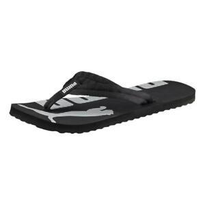 Puma NEW Men's Epic Flip V2 Sandals - Black / White BNWT