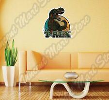 "Dinosaur Tyrannosaurus T-Rex Jurassic Wall Sticker Room Interior Decor 20""X25"""