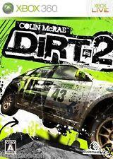 Used Xbox 360 Dirt 2 MICROSOFT JAPAN JAPANESE JAPONAIS IMPORT