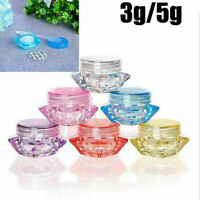 10~50Pcs 3g 5g Face Cream Lip Balm Container Cosmetic Jar Eyeshadow Makeup Pots