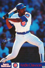 POSTER : MLB BASEBALL: ANDRE DAWSON  - CHICAGO CUBS - FREE SHIP #7595 LC25 L