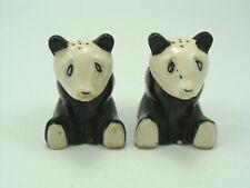 Vtg Panda Bear Salt & Pepper Shakers, Japan C28