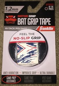 Franklin Sports Gator Grip 1.2mm Hi-Tack Polymer Bat Grip Tape
