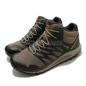 Merrell Nova 2 Mid WP Waterproof Brown Grey Men Outdoors Hiking Trail J035583