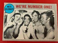 MLB New York Mets Playoff Celebrate 1970 Topps Trading CARD #198 Nolan Ryan