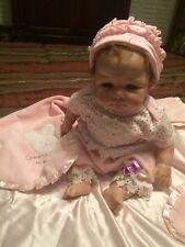 "Reborn Vinyl Doll Elly Knoops ""LUCA"" By Patricia Dedo Artist 19"" Newborn Baby"