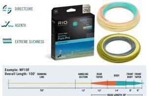RIO DirectCore Flats Pro 8wt Line Weight Forward Float Gray/Sand/Kelp NIB WF8F