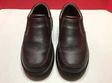 Dockers Pro Style Slip on Loafers Leather Men's 9M All Motion Comfort Brown