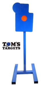 Hostage Reactive Hardox 500 Steel Shooting Target 10mm Plate With Stand