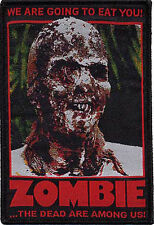 Patch Zombie Color Patch We are Going to Eat You The Dead are Among Us NFP029