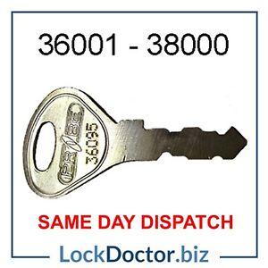 PROBE Locker Keys 36001-38000 Cut To Code *FREE 48HR TRACKED DELIVERY*Spare Keys