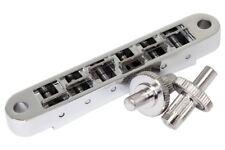Tune-O-Matic Nashville Bridge chrome made in USA fits Gibson ® Les Paul/sg/es335