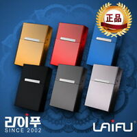 New Creative Aluminum Metal Cigar Cigarette Case Holder Pocket Box Storage V_e