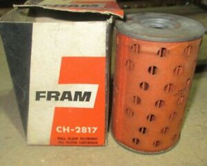 CH2817 Fram  Oil  Filter New Old Stock Toyota Crown 1963 on