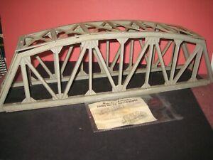 1959 Lionel #321 Trestle bridge, Complete w/instructions, screws. No Box C-7 s/b