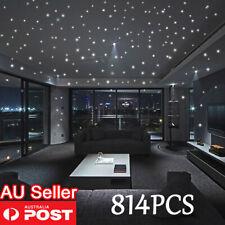814PCS Home Wall Glow In The Dark Stars Stickers Baby KIDS Decal Luminous