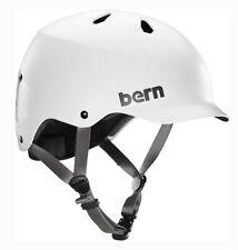 Bern Watts EPS Mens Bike Cycle Skate Helmet White XXL-XXXL