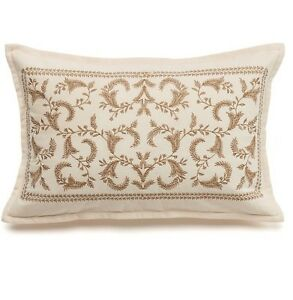 """CHAPS Home """"Beekman Place"""" PILLOW Size: 12 x 18"""" New SHIP FREE Decorative Throw"""