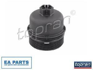 Cover, oil filter housing for ALFA ROMEO FIAT TOPRAN 600 531