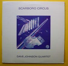 Dave Johnson Quartet Vibes Prince Robinson Guitar Private LP 1985