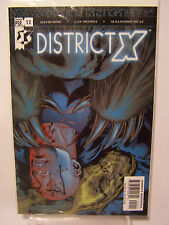 Marvel District  X number 12 Resealable Comic Bag and Board