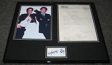 Perfect Strangers CAST Signed Framed 16x20 Photo Display JSA