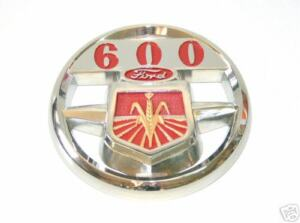 FORD 600 SERIES TRACTOR FRONT HOOD EMBLEM NCA16600A NEW