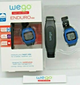 WeGo Enduro 100 Heart Rate Check Monitor Bicycling Exercise Sports Watch EKG NEW