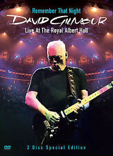 DAVID GILMOUR - REMEMBER THAT NIGHT - LIVE AT THE ROYAL ALBERT HALL NEW DVD