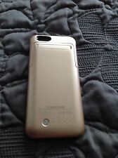 External Protective Battery Case For Iphone 6 Sgrice 3500 Mah Gold