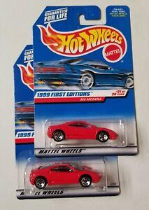 Ferrari 360 Modena Variant Lot 1999 Hot Wheels * HW LOGO * NIP 1:64 Scale