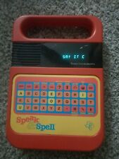 Texas Instruments 1980 Speak & Spell Electronic Learning Game