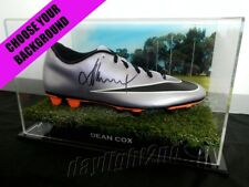 ✺Signed✺ DEAN COX Football Boot PROOF COA West Coast Eagles 2018 Guernsey