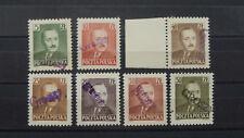 """Polen 1950 """"Michel -Kat. Nr. 547 – 555 / GROSZY """"  Postfrisch / ** / MNH"""