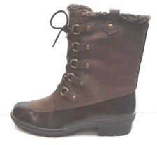 A2 by Aerosoles Size 7.5 Brown Water Resistant Comfort Boots New Womens Shoes