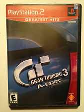 Gran Turismo 3 A-spec  (Sony PlayStation 2, 2001) Greatest Hits