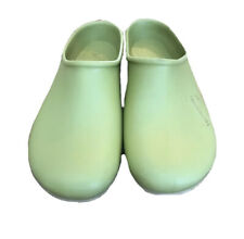 Sloggers Clogs Size 9 rubber slip on mule green yard garden shoes Made in USA