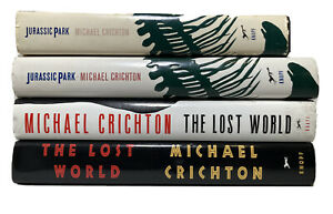 Jurassic Park and Lost World By Michael Crichton Bundle Pack First Edition