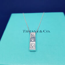 2f46f832b New listingTIFFANY & CO SOLID STERLING SILVER PALOMA PICASSO XOX PENDANT  NECKLACE