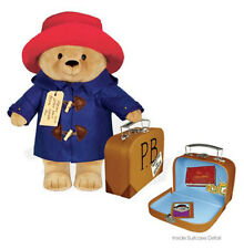 "Yottoy Paddington Bear with Suitcase 16"" Tall Stuffed Animal Plush Toy"