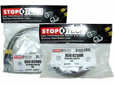 Stoptech Stainless Steel Braided Brake Lines (Front & Rear Set / 62000+62500)