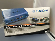 TRENDnet TK 209K - KVM / audio switch - 2 ports ~ Open Box