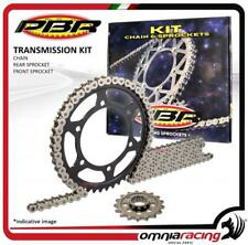 Kit trasmissione catena corona pignone PBR EK Kawasaki KX250 1990>1991