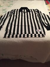 Long Sleeve Cliff Keen Athletics Referee Shirt size Medium zip Front